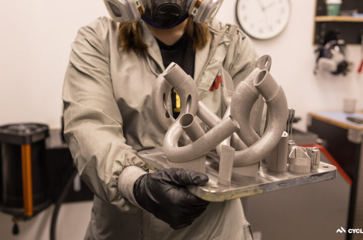 How to 3D-print titanium with Bastion Cycles