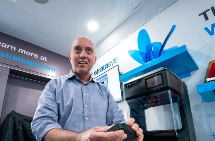 Stratasys 3-D printer company sees path to future even with stiffer competition