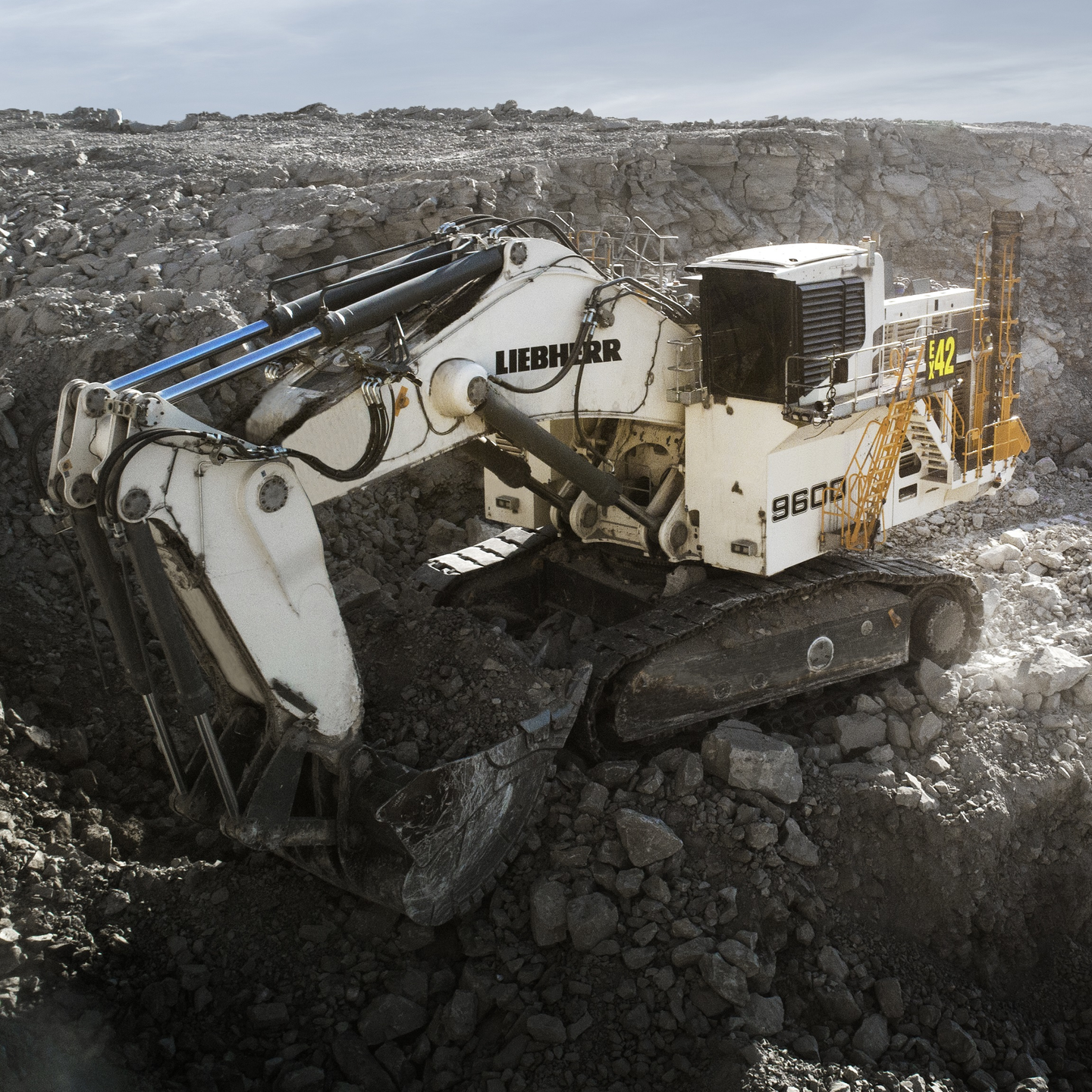 The R9600 is one of three new excavators Liebherr is debuting at MINExpo.